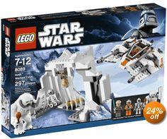 lego star wars hoth wampa set