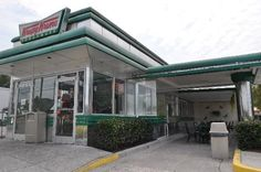 Krispy Kreme in Pigeon Forge, TN - OMG! These doughnuts are like eating a buttery, sugary cloud straight off the conveyor. Even better when eaten with a cup of their coffee! #vacation #restaurant #food #smokymountains