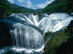 Yangtze River Waterfalls, China
