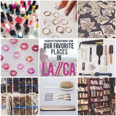 If you plan on visiting LA, don't miss this post! We've created a fun list of the places we love to go for both beauty AND inspiration! xo