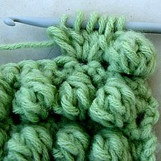 Instructions for bobble stitch-crocheting has come a long way since your grandma did it!
