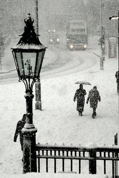 Trafalgar Square, London, December 2010.