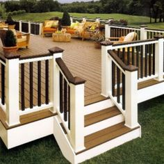 decks, color schemes, dream, patio, hous, back porches, backyard, outdoor spaces, deck railings