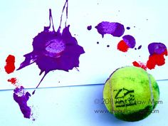 Tennis Ball Painting & More