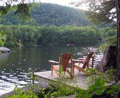 Squam Lakes, NH  where they filmed On Golden Pond #OrvisWomen