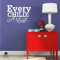 Every Child Is An Artist - Wall Decals