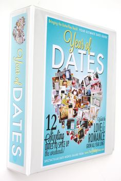 Year of Dates Binder- this would be the BEST Christmas gift!!
