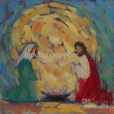 Wholesale Christmas Painting Holy Family Nativity Modern Oil Painting on Canvas Unframed Home Decor for Sale, Free shipping, $59.57-76.38/Piece | DHgate