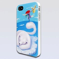 Superior Apple iPhone 4 / 4S Hard Sided Bear Relief Paintings Case