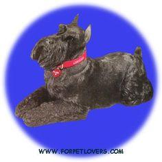SCHNAUZER DOG STATUE (LS455)