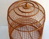 cool wooden birdcage