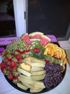 Another picture of Fruit Tray.