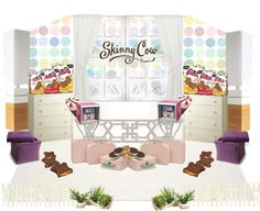 """Skinny Cow's Build Your Own WoCavé™ Contest ""sweet interior"""" by siska-w on Polyvore"