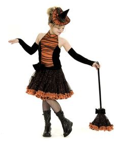 Willamina Witch Outfit - Girls