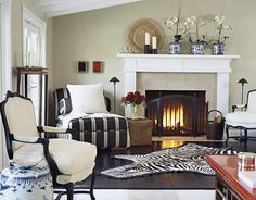 Sophisticated Living Room-loves it