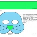 Easter bunny printable mask for boys, Free printable easter bunny