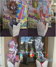 Homemade Monster High Decorations