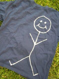 bleach pen shirts--so fun!