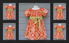 little dresses, girl cloth, casual summer, kid cloth, colors, flower girl dresses, flower girls, blues, amy butler