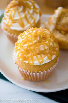 Butterscotch Cupcakes - Cupcake Daily Blog - Best Cupcake Recipes .. one happy bite at a time!