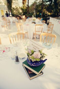 Vintage Tea Party Wedding with loads of Personal Touches