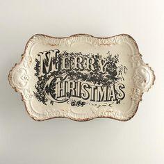 Vintage Merry Christ