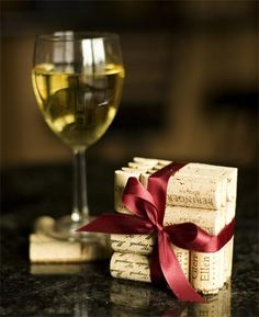 I love coasters, wine and have a lot of corks.  This is perfect!