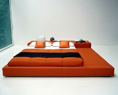 Modern Japanese Bedroom Design Photo