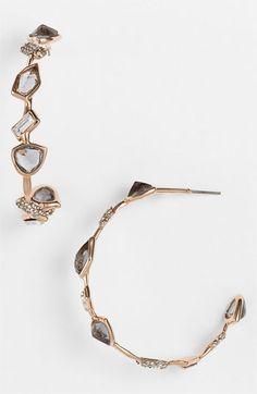 Alexis Bittar 'Miss Havisham' Multi Stone Hoop Earrings (Nordstrom Exclusive) available at #Nordstrom