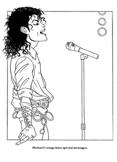 Cool things to draw on pinterest cute cartoon animals for Michael jackson smooth criminal coloring pages