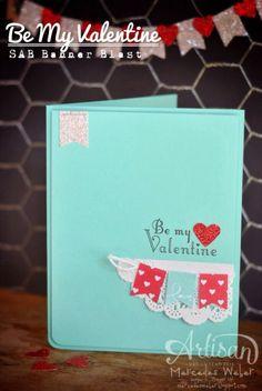 Stampin Up 2014 Sale a Bration - Banner Blast Valentine
