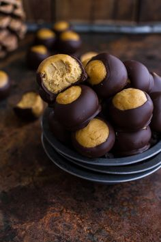 Looking for ways to sneak healthy ingredients into your game day treats without anyone knowing? Try these Healthy Harvest Buckeyes from halfbakedharvest.com