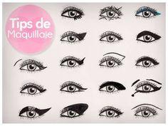 Tips maquillaje Delineado de ojos
