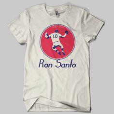 Ron Santo Vintage Chicago Cubs T-Shirt. $19.99, via Etsy.