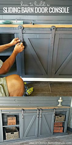 BEST 10 HOW TO BUILD A SLIDING BARN DOOR CONSOLE FOR YOUR MAN CAVE - Page 6 of 21