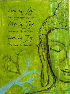 live in joy