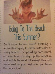 Beach tip