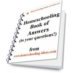 Homeschooling Book of Answers. Answers to some of the most frequent questions by new homeschoolers. Free downloadable ebook (link under the 'download' tab) #homeschool