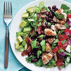 Southwestern Cobb Salad | CookingLight.com #myplate #protein #veggies
