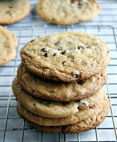 Chocolate Chip Peanut Butter Cookies  on MyRecipeMagic.com