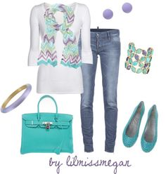 """Pretty in Pastels"" by lilmissmegan on Polyvore"