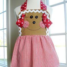 cute gingerbread apron