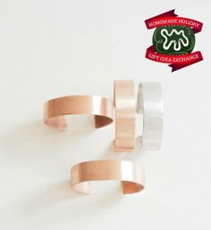 Make this Homemade Holiday Gift: Copper Bangles HOMEMADE HOLIDAY GIFT IDEA EXCHANGE: PROJECT #12