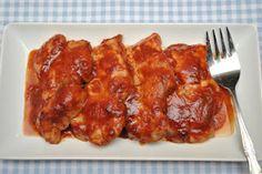 Saucy Baked Pork Chops:  http://thedutchdoorkitchen.blogspot.com/2012/01/saucy-baked-pork-chops.html