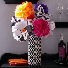 paperflow bouquet, color, flower bouquets, paper flowers, papers