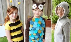 diy costumes, halloween costume ideas, animal costumes, kid costumes, diy halloween costumes, dress up, homemade costumes, bumble bees, homemade halloween costumes