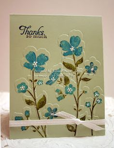 Wildflower Meadow and embossing folder