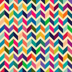Geometric pattern Art Print by Mrs. Opossum chevron stripe