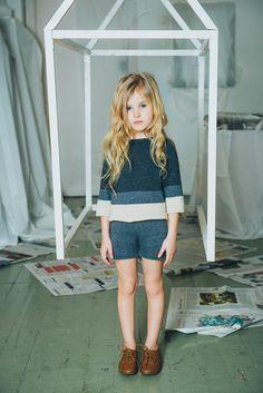 Lovely blues. PAADE, L'AUTOMNE À PAS DE LOUP #estella #kids #fashion #designer