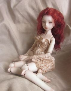 Ooak Porcelain Ball Jointed Doll BJD